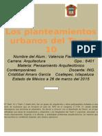 Los Planteamientos Urbanos Del Team 10