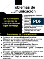 Taller Los 7 Principales Problemas de Comunicación en El Lugar de Trabajo