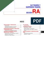 Manual de reparación Amortiguacion eje trasero y suspension trasera