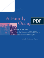 Jolanda Vanderwal Taylor-A Family Occupation(1997)