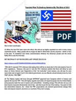 Dirty Details Of How The Fascists Plan To Destroy America By The End of 2015.docx
