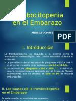 Trombocitopenia en el Embarazo.pptx