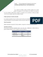 3 Clase 4to Grado Secundaria- Funciones Matematicas y Estadisticas en Excel 2010