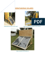 Deshidratadora Solar Fotovoltaica