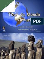 1-Tour Du Monde Virtuel