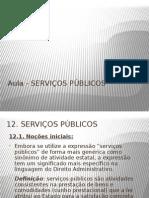 Aula - Serviços Públicos