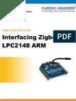 Interfacing Zigbee With LPC2148 ARM