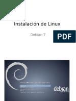 Instalacion Debian 7