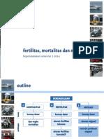 Perhitungan Fertilitas, Mortalitas Dan Migrasi (Pengertian)