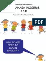 Bahasa Inggeris UPSR