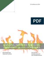 Normativa contra Incendios