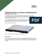 10Gb Ethernet Pass-Thru Module for IBM BladeCenter