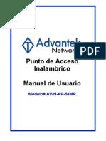 AWN-AP-54MR (Spanish User Manual)