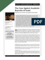 Against Academic Boycotts