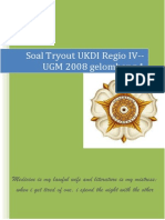 Soal to Ukdi Jan 2014 Regio IV