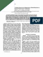 The Effect of Different Carbon Sources on Respiratory Denitrification Nautska et al