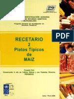 Cocina Peruana_Recetario 2_Platos Tipicos de Maiz