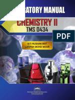 Laboratory Manual Chemistry 2 TMS 0434 25