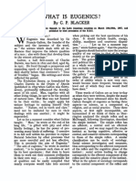 Blacker CP. What is Eugenics? the Eugenics Review. 1947;39(2):56-58