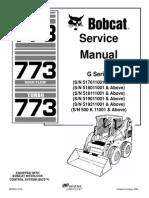 bobcat 773 service manual free download
