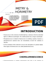 FLUORIMETRY & PHOSPHORIMETRY