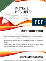 FLUORIMETRY & PHOSPHORIMETRY