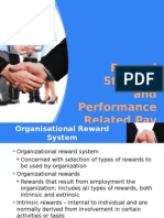 Reward Strategy and Performance Related Pay