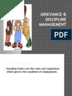 Grievance & Discipline Management