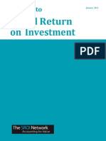 The Guide to Social Return on Investment 2015