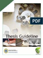 Thesis Guideline Uum