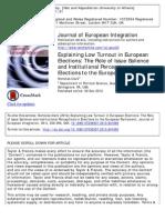 Low Turnout European Elections