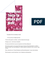 47 Covert Texxts to Make Her Wett