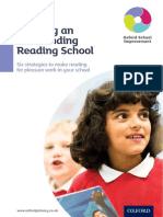 Reading for Pleasure Report