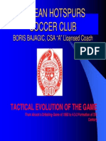 Tactical Evolution of the Game