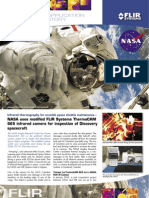 Infrared thermography for on-orbit space shuttle maintenance