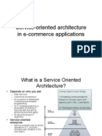 SOA in E-Commerce Applications