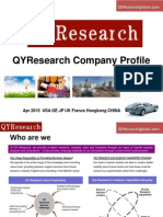 Professional Market Research Company-QYResearch Ltd