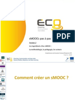 SMOOCs Pas à Pas - Session 2 - PPT 1/3