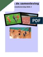 onderzoeksverslag sport in de samenleving blok 3