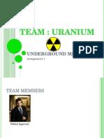 Underground Mining Assignment 1.pptx