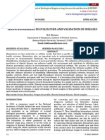 Serum Biomarkers in Evaluation and Validation of Diseases -H.D. Khanna