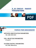 06) GSM Radio Parameters