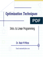 Lec 25 Linear Programming