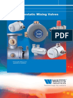 Brochure Watts Thermo Static Mixing Valves