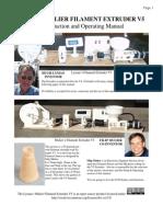 Lyman Mulier Filament Extruder v5 Manual r1
