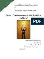 Problema Energetica in Republica Moldova