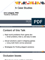 Game Math Case Studies