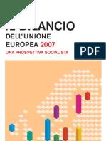 PSE - Il bilancio dell'Unione europea