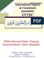 OSHA Welding and Cutting