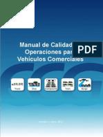 Manual de Calidad de Operaciones Para Vehículos Comerciales
